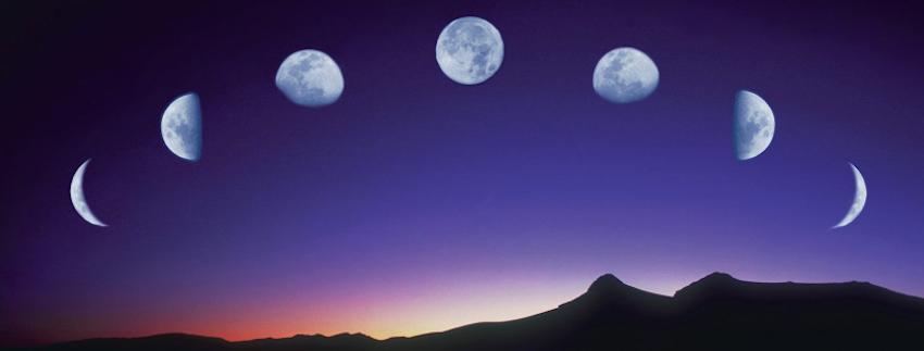 Calendario Lunare Per Salute E Bellezza.In Armonia Con La Natura Grazie Al Calendario Lunare Tiare