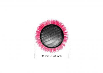 Spazzola professionale in ceramica diametro 36mm | Tek