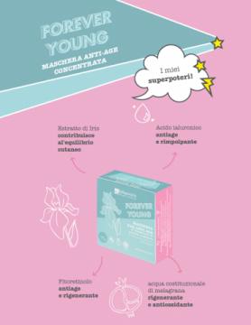 Forever Young - Maschera Viso Anti Age   La Saponaria