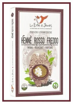Hennè Rosso Freddo    Le Erbe Di Janas