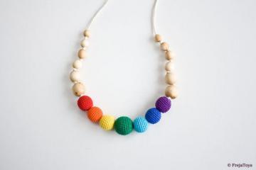 Collana d'Allattamento 'Rainbow' - FrejaToys | Frejatoys