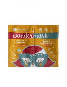 Wonder Mask 2 Step Antiage  | La Saponaria