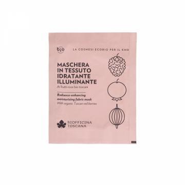 Maschera in Tessuto Idratante-Illuminante | Biofficina Toscana