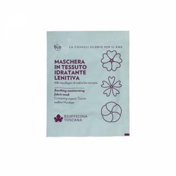 Maschera in Tessuto Idratante-Lenitiva | Biofficina Toscana