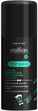 Top Man Lozione Rinfrescante Post Rasatura | MaterNatura