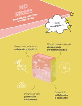No Stress - Maschera Viso Lenitiva | La Saponaria