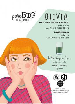 Latte di Spirulina - Maschera Olivia   Purobio