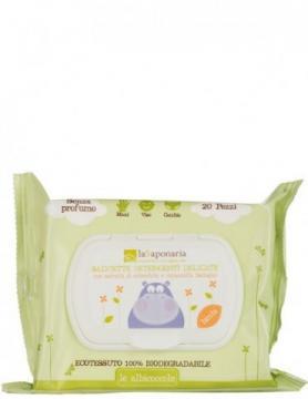 Salviette Detergenti Delicate 'Le Albicoccole' | La Saponaria