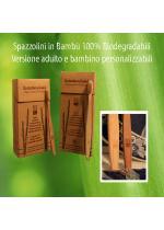 Spazzolino in Bambù Adulti - Tea Natura