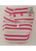 Fitted Ibrido tg.Unica Pink Stripes | OhMama!