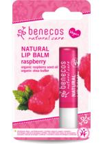 Raspberry Natural Lip Balm   Benecos