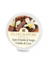 Cialda - Legno di Sandalo e Vaniglia | Heart & Home